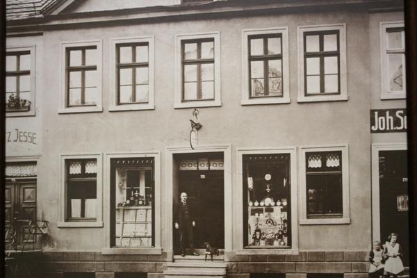 1 Geschäft um 1900